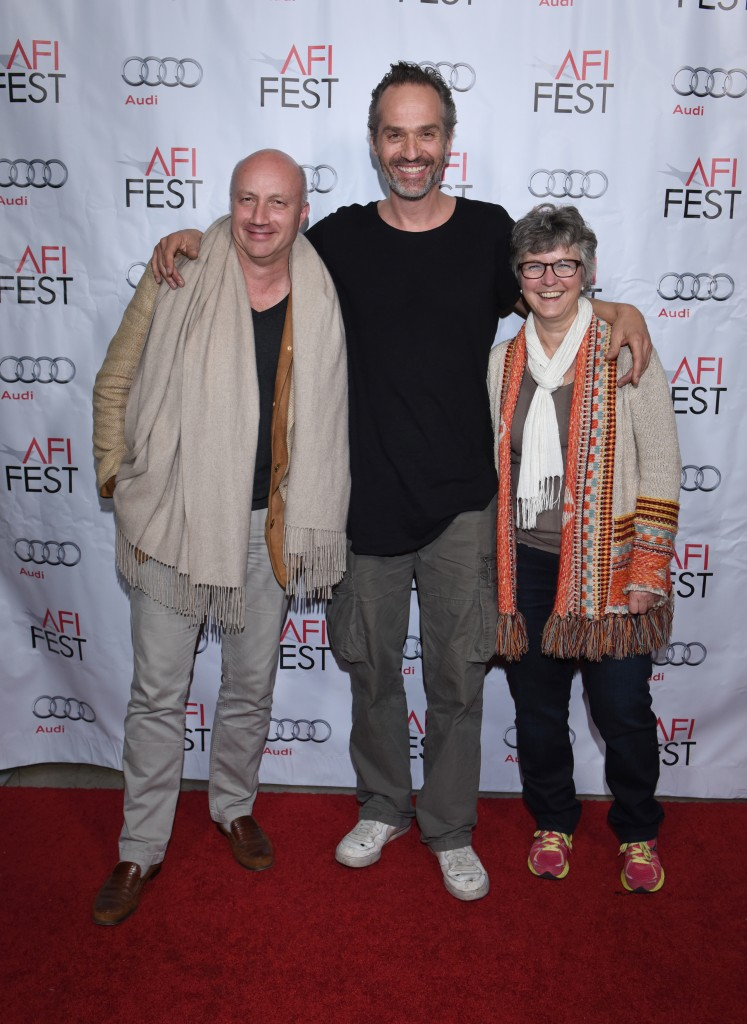 Oliver Mahrdt (German Films), AKIZ (Director of DER NACHTMAHR), Nicole Kaufmann (German Films)