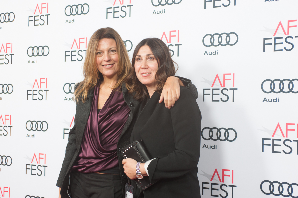 (L to R) Camilla Cormanni (Luce Cinecittà) and Eleonora Pratelli attend FRANCA: CHAOS AND CREATION