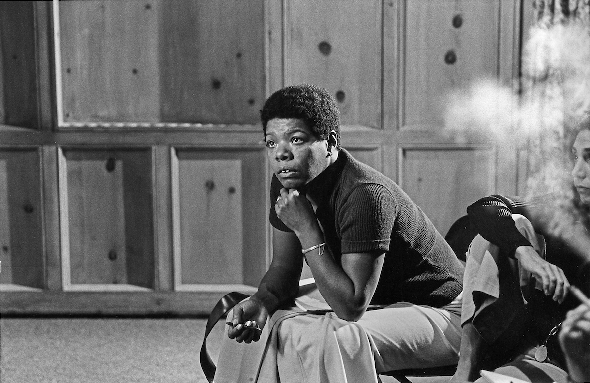 AFI Conservatory Directing Workshop for Women (DWW) participant Maya Angelou