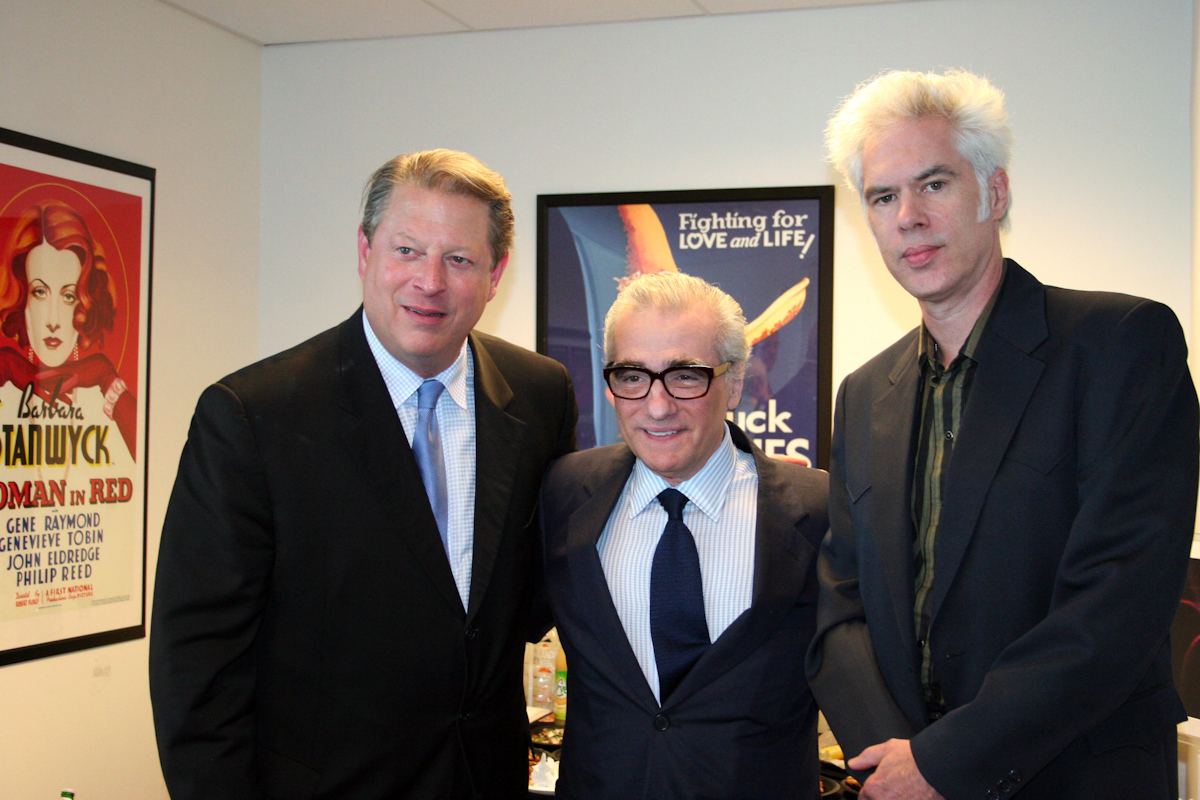 Al Gore, Martin Scorsese and Jim Jarmusch at AFI DOCS (then known as Silverdocs)