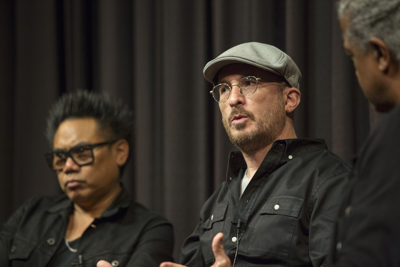 Libatique and Aronofky